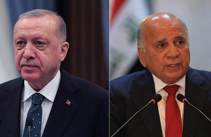 Erdoğan, Irak Dışişleri Bakanı ile görüştü