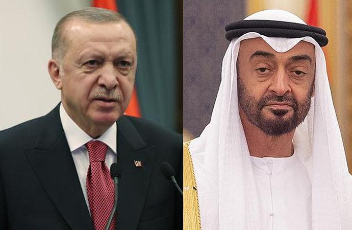 Erdoğan, BAE Veliaht Prensi el Nahyan ile görüştü