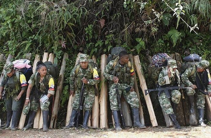 FARC, 18 bin çocuğu silah altına almış