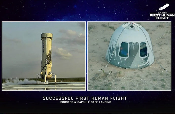 Milyarderlerin 'yeni uzay' rekabeti