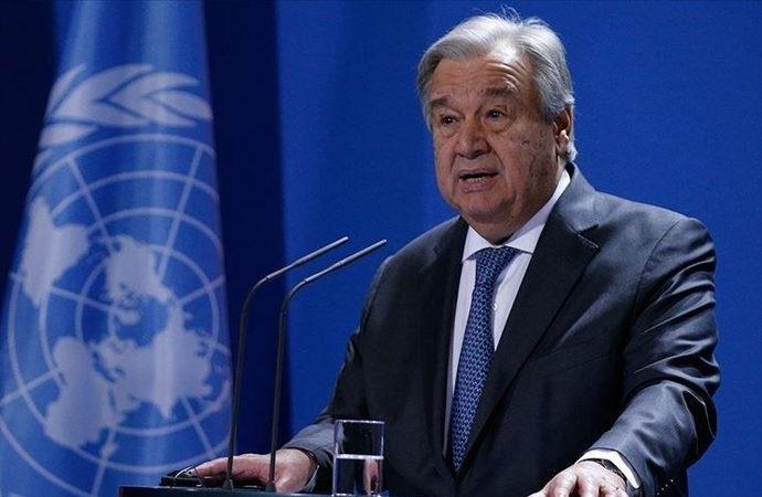 Guterres: Taliban ile konuşmaya hazırım