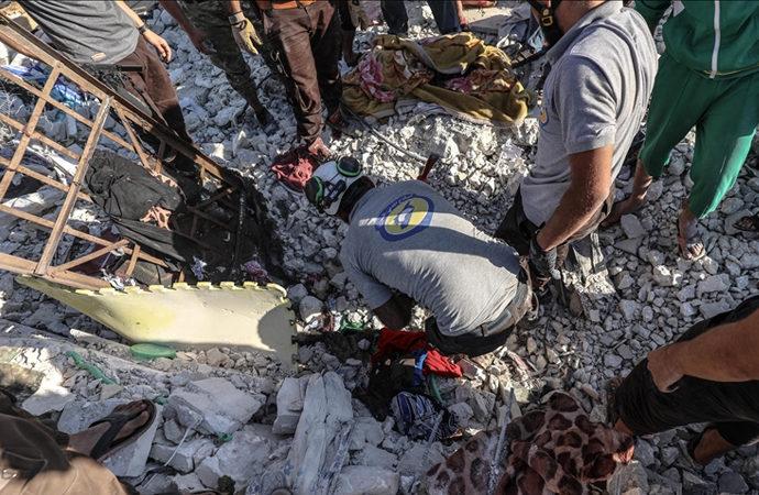 İdlib'e Esad rejimi saldırısı: 5 sivil hayatını kaybetti