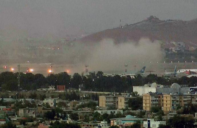 Kabil'de havaalanı bölgesinde patlama