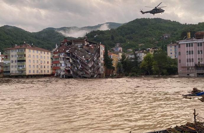 Soylu: Gördüğüm en ağır sel felaketi burası