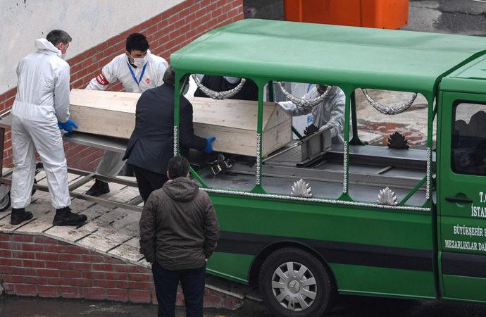 Türkiye'de son 24 saatte koronadan 216 vefat