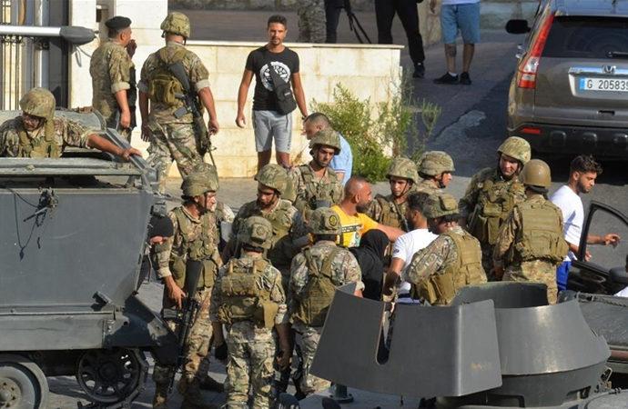 Lübnan'da silahlı çatışma