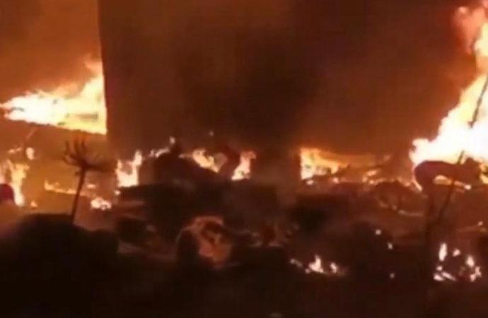 Lübnan'da tanker patlaması