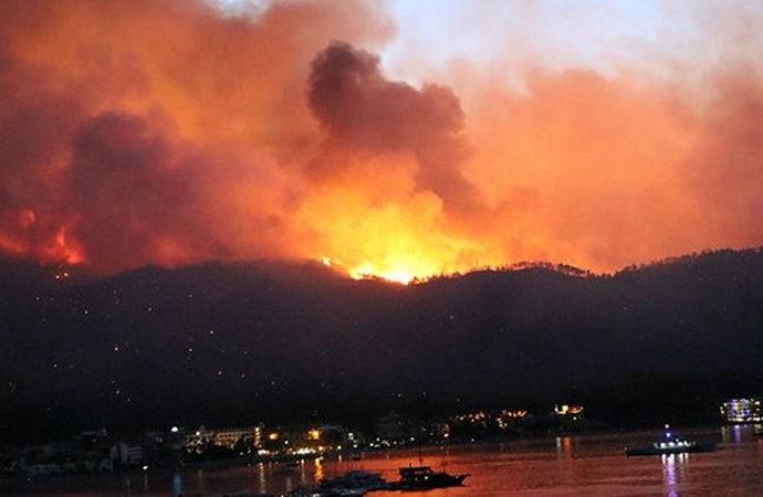 Orman yangınlarında 9'uncu gün!