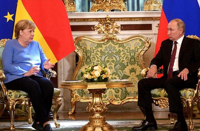 Almanya'dan Rusya'ya üst düzey ziyaret
