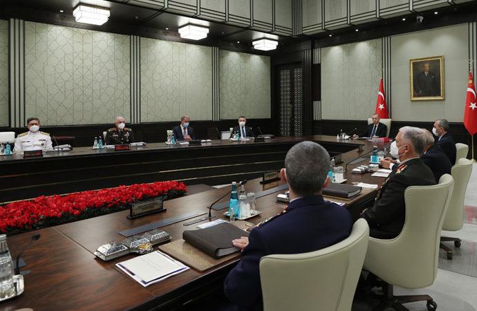 Milli Güvenlik Kurulu (MGK) toplantısı 3,5 saat sürdü