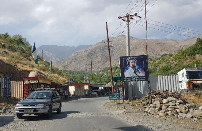 AA ekibi Afganistan'ın Pencşir vilayetine girdi