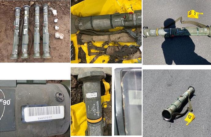 PKK, NATO üyesi ülkelerin ürettiği silahlarla saldırdı