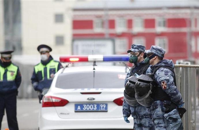 Rusya'da bir camide yaklaşık 600 kişilik gözaltı