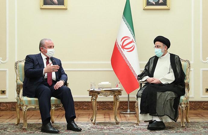 Şentop, İran Cumhurbaşkanına başarı diledi