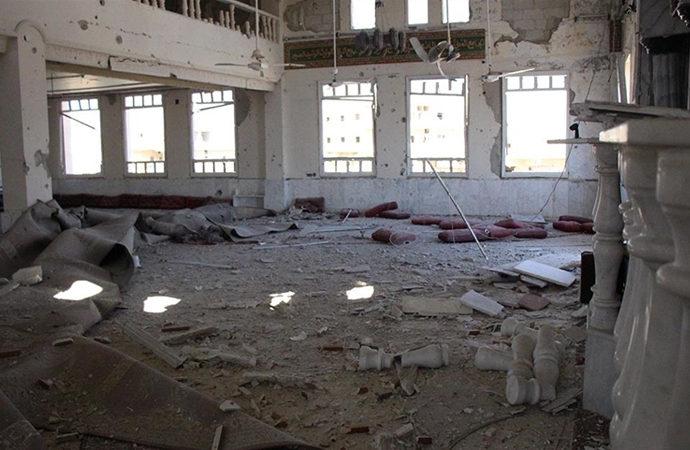 Dera'da halk yoğun bombardıman altında