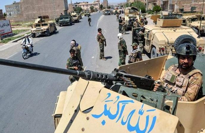 Afgan hükümetinin 300 bin kişilik gücüne rağmen!..