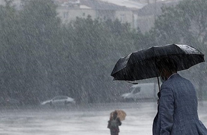 Antalya'da yağmur şükür vesilesi