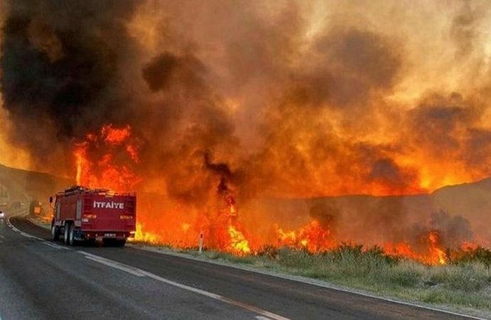 6 günde 144 yangın çıktı, 10 tanesi devam ediyor