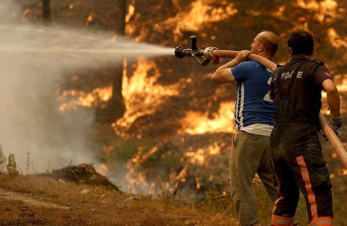 163 yangının 152'si kontrol altına alındı