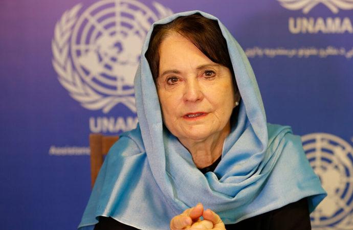 Birleşmiş Milletler Temsilcisi Lyons, Afganistan'a para girişi sağlanmasını istedi