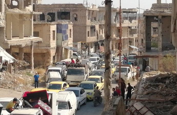Rejim, Dera'da kuşattığı mahalleye yoğun saldırı başlattı