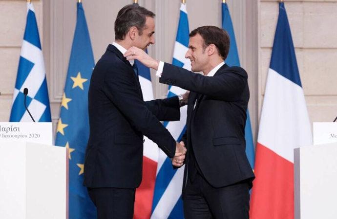Yunanistan Başbakanının Fransa ziyareti
