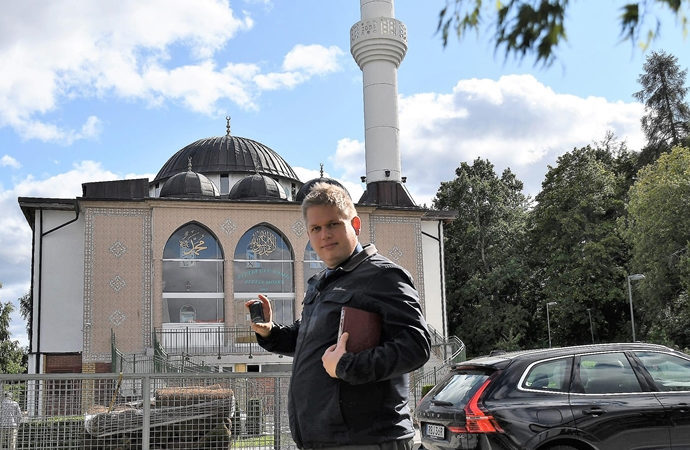 Danimarka'da yine Kur'an yakma provokasyonu