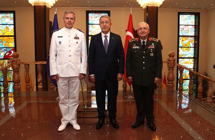 Nato Askeri Komite Başkanından ziyaret