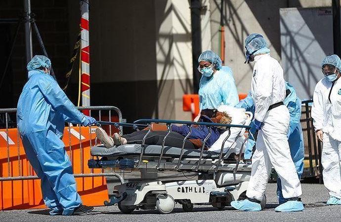 Nüfusun yüzde 75'inin aşılandığı ABD'de son 24 saatte 2 bin kişi öldü