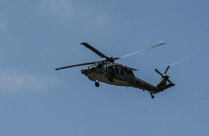 ABD donanmasına ait helikopter düştü