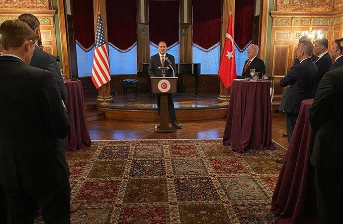 Türk şirketlerden Washington'da resepsiyon