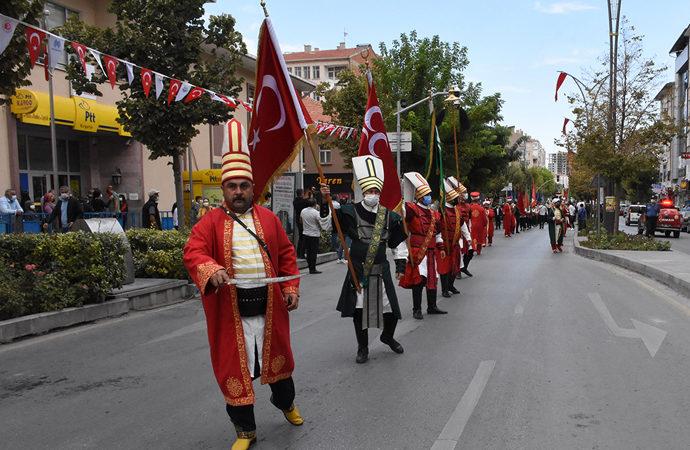 Ahilik Haftası, Atatürk anıtı ve Türbe ziyareti ile başladı