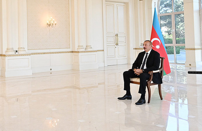 Aliyev: Savaşın sorumlusu Ermenistan ve arkasındaki büyük devletler