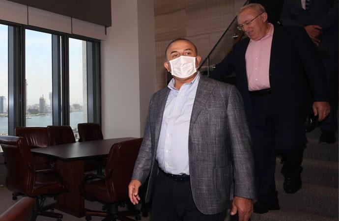 Dışişleri Bakanı Çavuşoğlu ABD'ye gitti