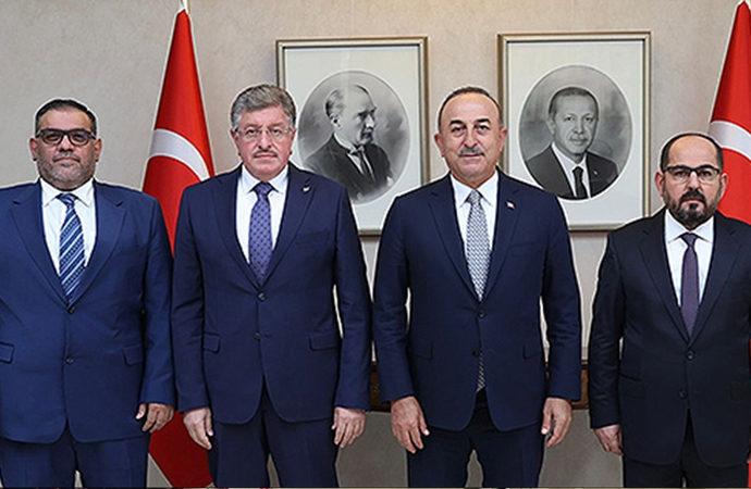Suriye muhalefetinden Çavuşoğlu ziyareti
