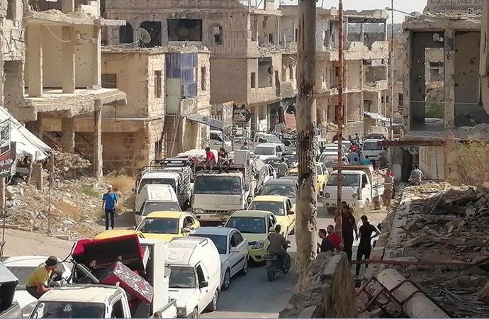 Dera'da bombardımanın ardından yeni ateşkes anlaşması