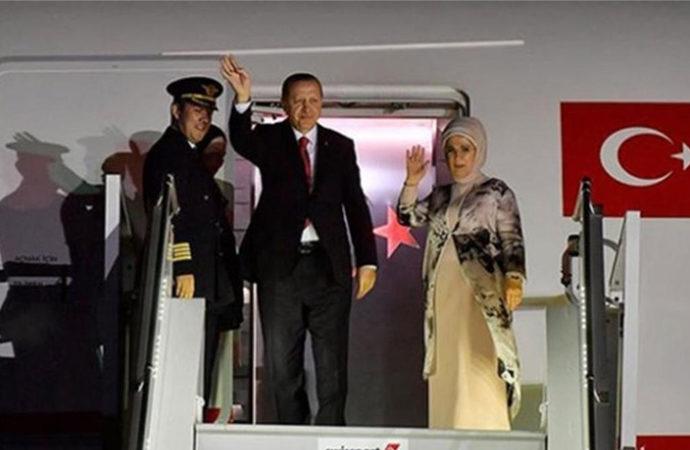 Cumhurbaşkanı Erdoğan, ABD ziyaretini tamamladı