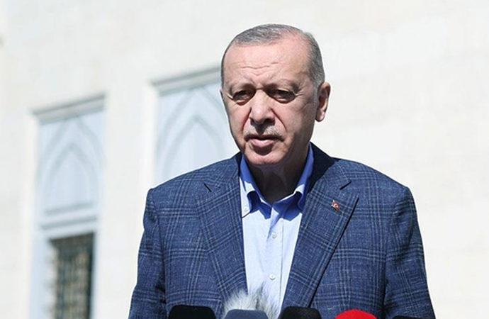 Erdoğan: ABD, terör örgütlerine beklenenin çok üzerinde destek veriyor