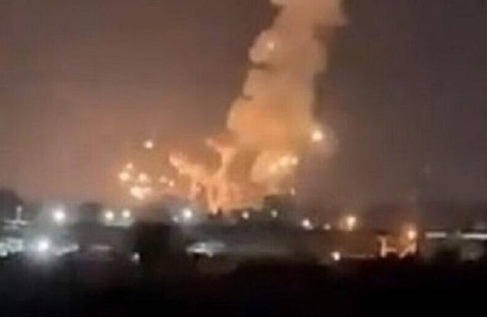 Gazze'ye siyonistlerden hava saldırısı