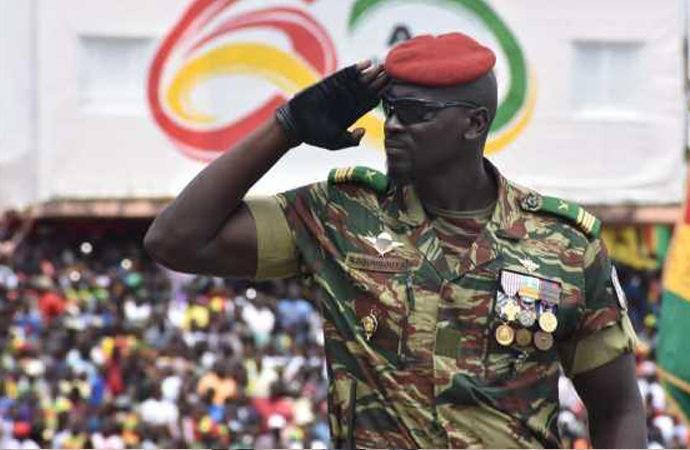 Gine'de darbenin arkasındaki isim: Doumbouya