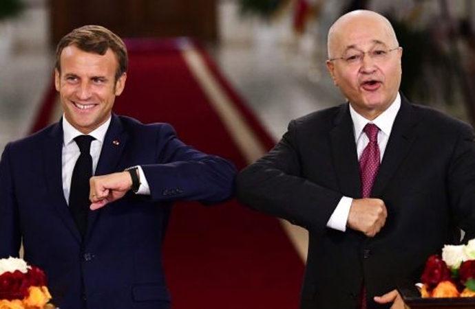 Macron ABD sonrası Irak'ta neyi amaçlıyor?