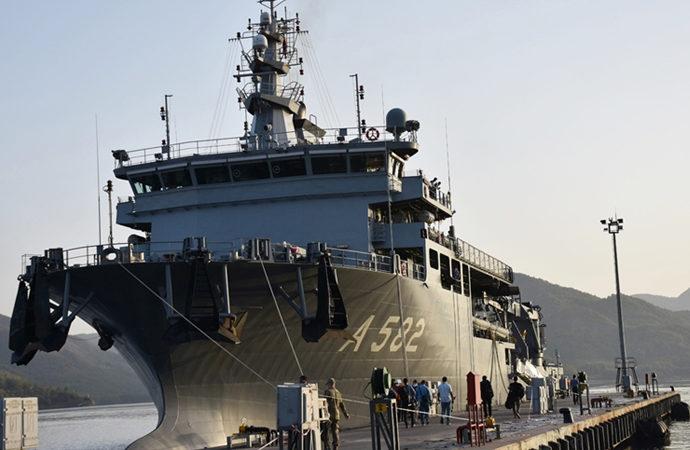 Marmaris'te ortak Nato tatbikatı sürüyor