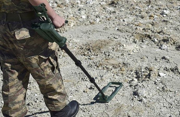 Iğdır'da toprağa gömülü 80 bin mayın temizlenecek