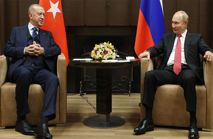 Putin-Erdoğan görüşmesi Soçi'de yapıldı