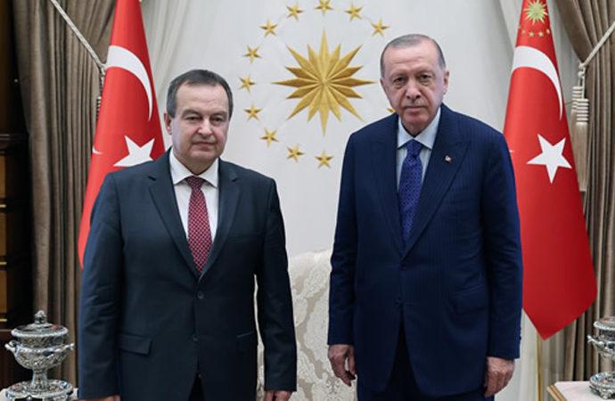 Sırbistan Ulusal Meclis Başkanından Erdoğan'a ziyaret