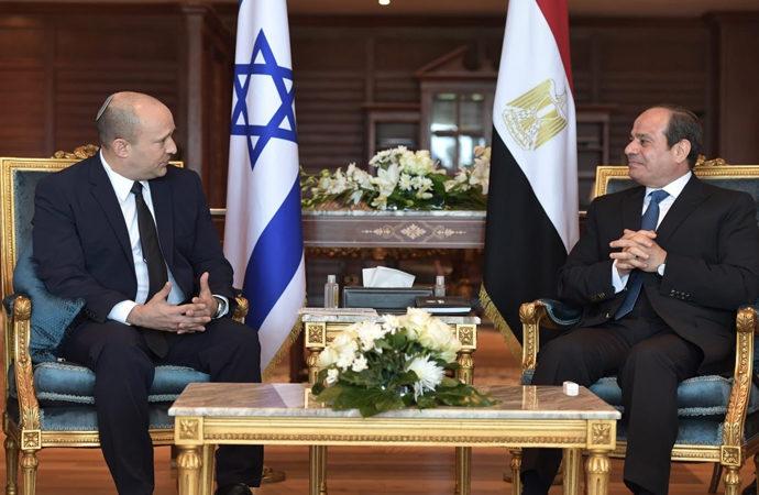 Sisi, Yahudi başbakanı Şarm el Şeyh'te ağırladı