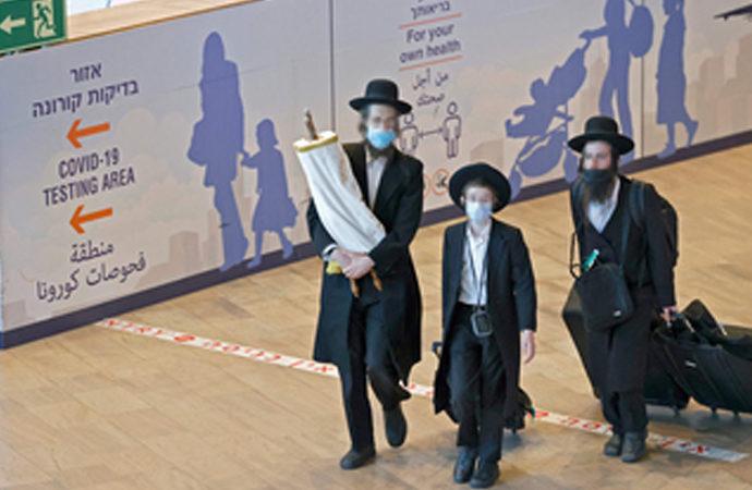Roş Aşana için Ukrayna'ya giden Yahudiler sahte testle İsrail'e dönmüş