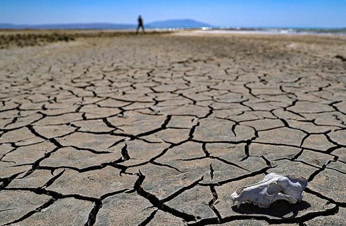Van Gölünde çekilme: Yer yer 2 kilometreye ulaştı