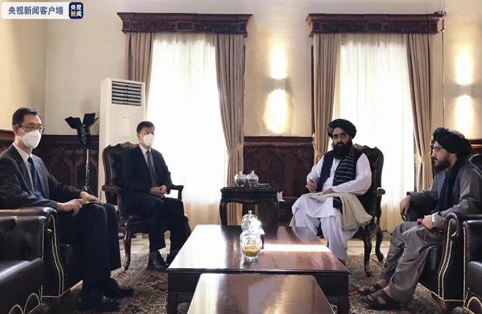 Afganistan Dışişleri Bakanlığına Çin'den ziyaret