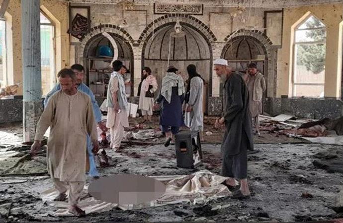 Afganistan'da Şii camisine bombalı saldırı